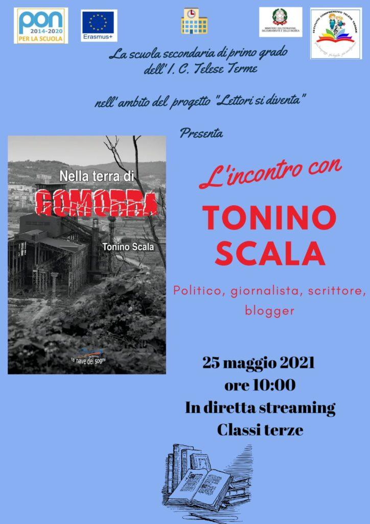 Incontro con l'autore Tonino Sacla